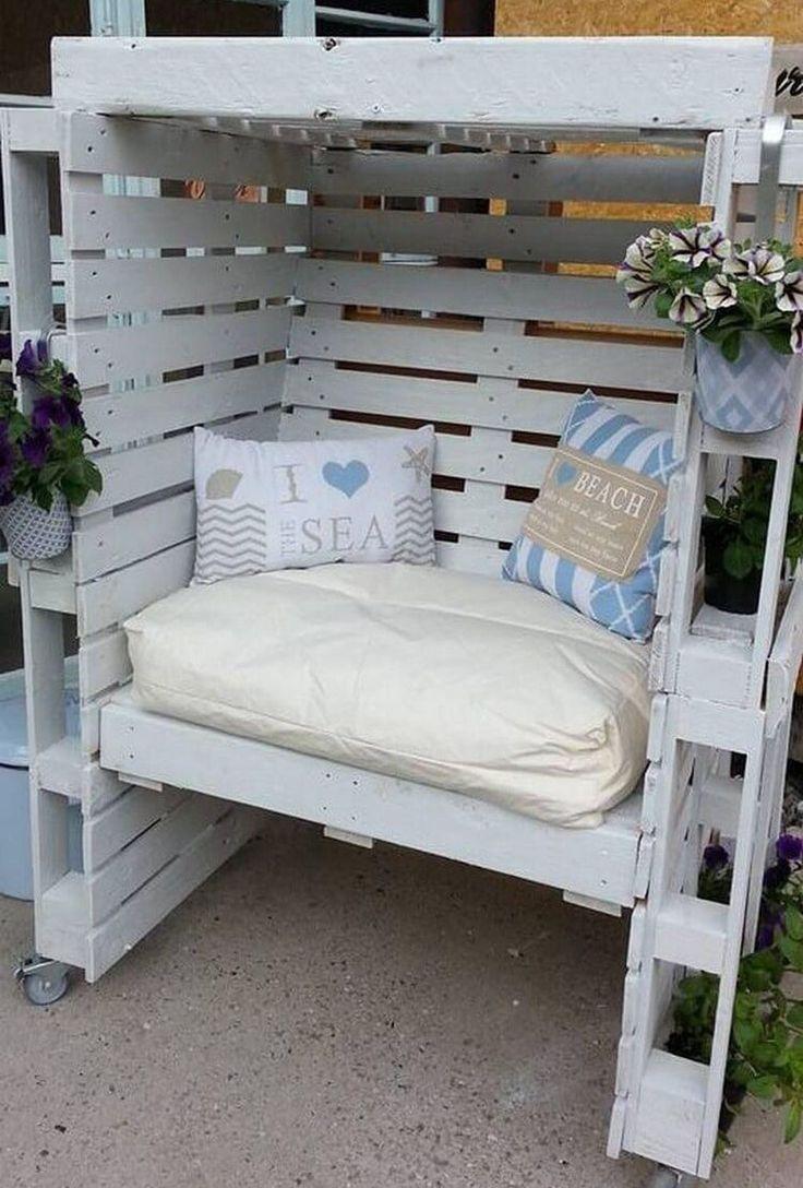 50 Fancy Diy Outdoor Pallet Furniture Ideas Pallet Ideas