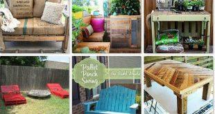 20+ Great DIY Outdoor Pallet Projects ( & Best Tutorials