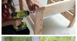 Inspiration Board: Ein Sommerprojekt, das ich nicht abwarten kann! Holzbearbeitung!