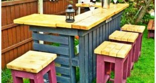 Pallet Furniture Diy. Get a personalised and fashionable visual appeal within yo...