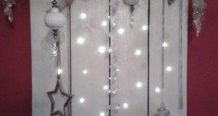 Versetze dein Haus mit einem schönen Lichtbord oder Dekopalletten in Stimmung