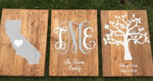 Monogram wooden pallet sign, rustic sign, Custom Est sign, Personalized monogram, State sign with heart, Family tree est sign, wedding gift