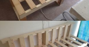 Sofa mit recycelten Paletten; Erstellen Sie Ihre Projekte mit unserer Hardware und