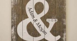 Wood Pallet Signs Wedding Bridal Shower 25 New Ideas