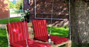 ▷ 50 + tolle Ideen zum Thema Gartenmöbel aus Paletten