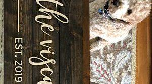 Pallet Sign / Last Name Sign / Custom Wood Sign / Established Sign / Personalized Wedding gift / We