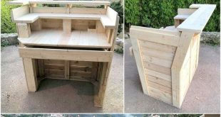Amazing Ideas For Wooden Pallets Projects
