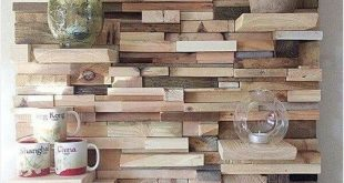 42 Adorable Pallet Wall Art 72 Few Superb Recycling Ideas with Used Wood Pallets...