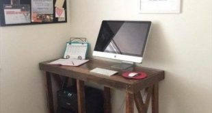 68+ Ideas for pallet wood desk small spaces