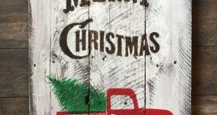 78 Amazing Christmas DIY Pallet Plaque for Your Trending Decor
