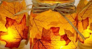 Basteln im Herbst mit Kindern - von Naturmaterialien bis Knöpfe