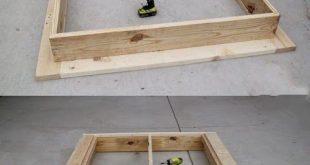 Beste DIY-Projekte: Ein einfaches DIY-Plattform-Bett, das jeder bauen kann! #ba...