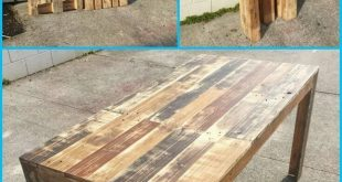 DIY: How to Build a Pallet Table