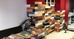 DIY Pallet Wood Wall – Pallet Wall Decor