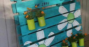 Design von funktionalen Möbeln mit Paletten