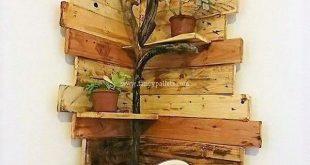 Eckregal für Luxusideen aus Holzpaletten – #aus #Eckregal #für #Holzpaletten #… #WoodWorking