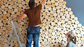 Feature Blockwände und Wandpaneele - Dekorative Blockplattenfliesen von thelogbasket auf etsy - Ashleigh Crowder
