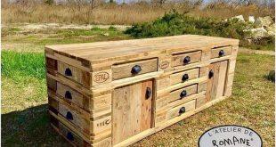 Hervorragende alte Holzpaletten, die Spitzen wiederverwenden #hervorragende #ho...
