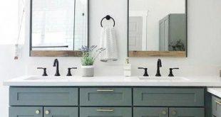 Industrial Metal + Wood Wall Mirror