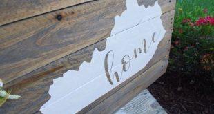 Kentucky Home pallet sign I Kentucky I Kentucky home I Kentucky sign I housewarming gift I going away gift I wood sign I home