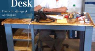 Pallet Desk / Escritorio De Pallets