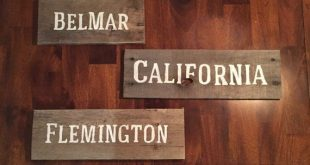 Rustic pallet location sign, rustic sign, pallet sign, wall decor