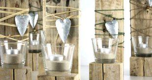 Tealight decoration pallet wood