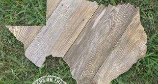 Texas Wood Rustic Reclaimed Handmade Texas Wooden Sign | State Wood Signs | Texas Decor | Texas Pall