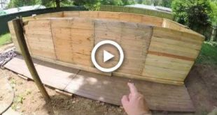 The Backyard Project! pt4. - DIY PALLET SWIMMING POOL!