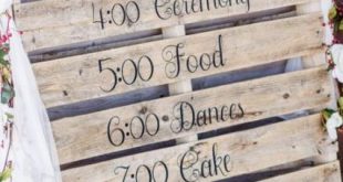 Trendy wood pallet signs wedding decor 38 ideas